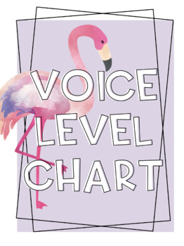 Summer Themed Voice Chart