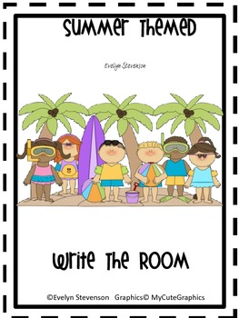 Summer Themed Write the Room