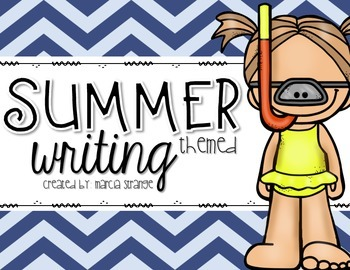 Summer Themed Writing and Craftivities