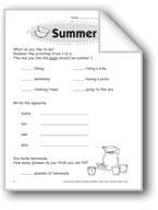 Summer (Thinking Skills)