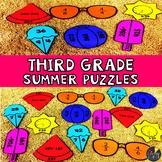 Summer 3rd Grade Math Puzzles