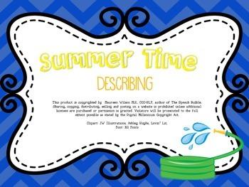 Summer Time Describing