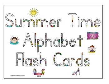 Summer Time Flash Cards