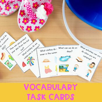 Summer Time Grammar & Vocabulary Pack