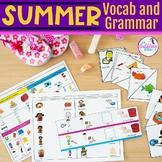 Summer Themed Vocabulary & Grammar Activities