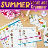 Summer Themed Vocabulary & Grammar Activities