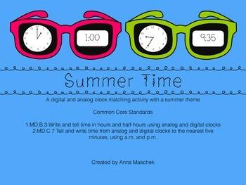 "Summer ""Time"" Matching"