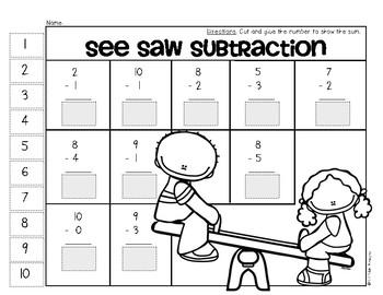 Summer Time Math Mega Pack {Ready! Set! Print!} Kindergarten and First Grade