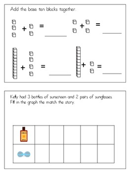 Summer Time Math Practice CCSS
