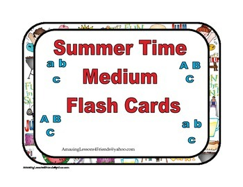 Summer Time Medium Cards