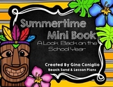 Summertime Mini Book: A Look Back on the School Year