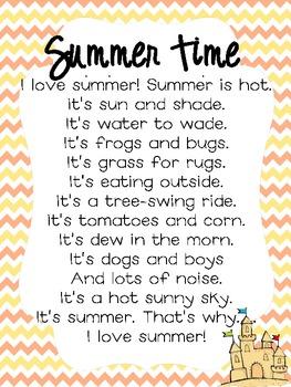 Summer Time Poem