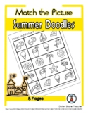 Summer Time - Print, Answer & Color Worksheets - 5 Pages