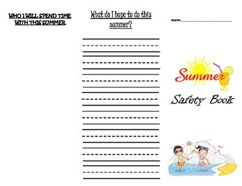 Summer Time Safety Brochure