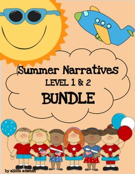 Summer Time Social Narratives/Labels *BUNDLE* LEVEL 1 & 2