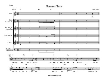 Summer Time - Voice, Orff Xylophone and Jumbie Jam