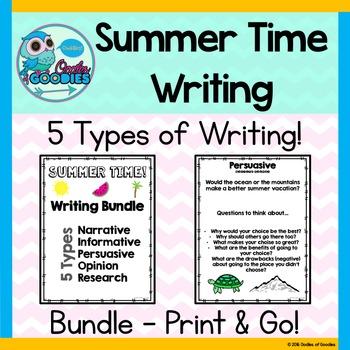Summer Time - Writing Bundle