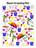 Summer Time at the Beach Math Bundle (Graphing, Vocab and MORE)