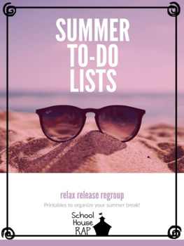 Summer To-Do Lists