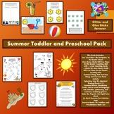 Summer Toddler and Preschool Pack