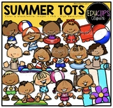 Summer Tots Clip Art Bundle {Educlips Clipart}