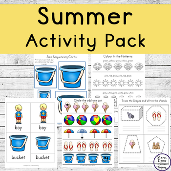 Summer Tots to Prep Pack