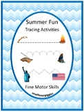 Tracing Activities, Tracing Lines, Fine Motor Skills, Special Education, Summer