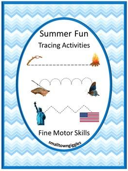 tracing activities tracing lines fine motor skills special education summer. Black Bedroom Furniture Sets. Home Design Ideas