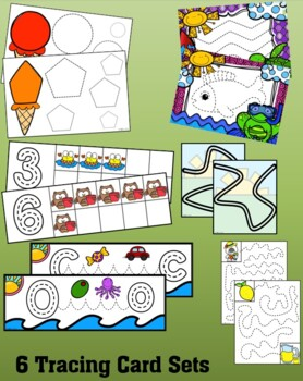 Fine Motor Skills -  Tracing Lines Fun {Summer}