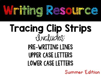 Summer Tracing Strips