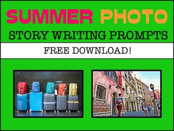 Summer & Travel Photo Writing Prompts