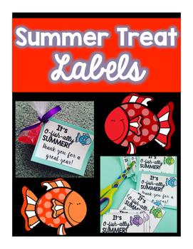 Summer Treat Label Freebie