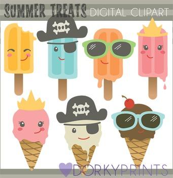 Summer Treats Clip Art