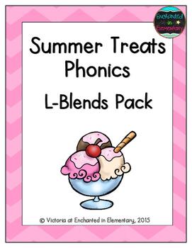 Summer Treats Phonics: L-Blends Pack
