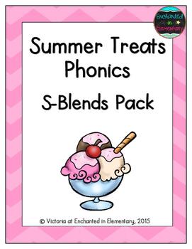 Summer Treats Phonics: S-Blends Pack