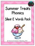 Summer Treats Phonics: Silent E Words Pack