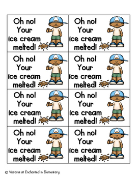 Summer Treats Phonics: Silent E Words Pack