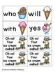 Summer Treats Sight Words! Complete Set of 220 Sight Words
