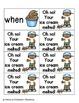 Summer Treats Sight Words! First Grade List Edition