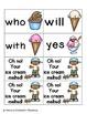 Summer Treats Sight Words! Primer List Edition