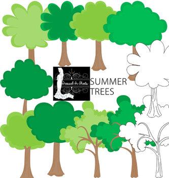 Summer Tree Clipart