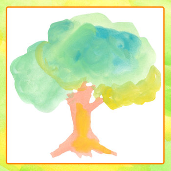 Summer Trees Handpainted Watercolor Clip Art for Commercial Use