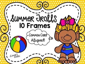 Summer Trolls 10 Frames