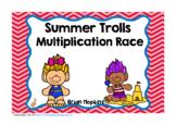 Summer Trolls Multiplication Race