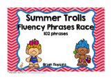 Summer Trolls Sight Word Fluency Phrases Race
