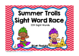 Summer Trolls Sight Word Race