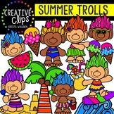 Summer Trolls: Summer Clipart {Creative Clips Clipart}