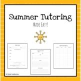 Summer Tutoring! Made Easy