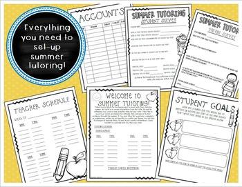 Summer Tutoring Start-Up Kit Teacher Resources