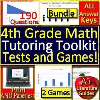 Summer Tutoring Toolkit: 4th Grade Tutoring Resources Math Practice ...